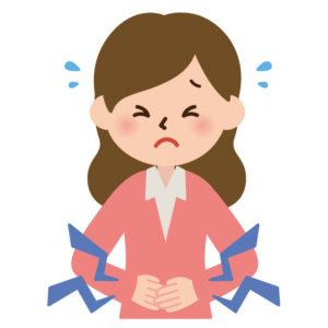 ワイズ整体院の子宮内膜症イラスト