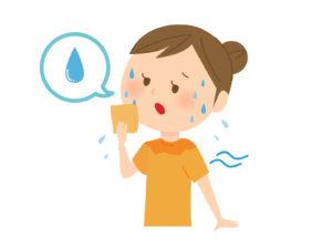 ワイズ整体院の多汗症について