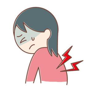 ワイズ整体院の背中の痛み説明