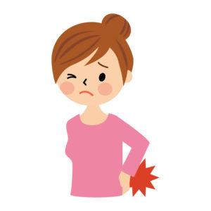 妊娠初期の腰痛の解説
