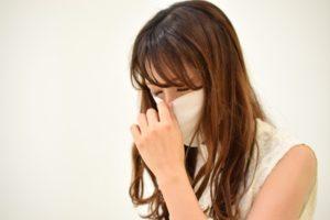 ワイズ整体院の花粉症の女性写真