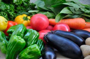 ワイズ整体院の野菜の効能の説明