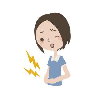 ワイズ整体院の胃腸の不調イラスト