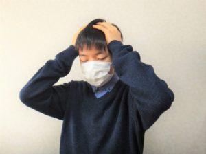 中学生の起立性調節障害頭痛画像